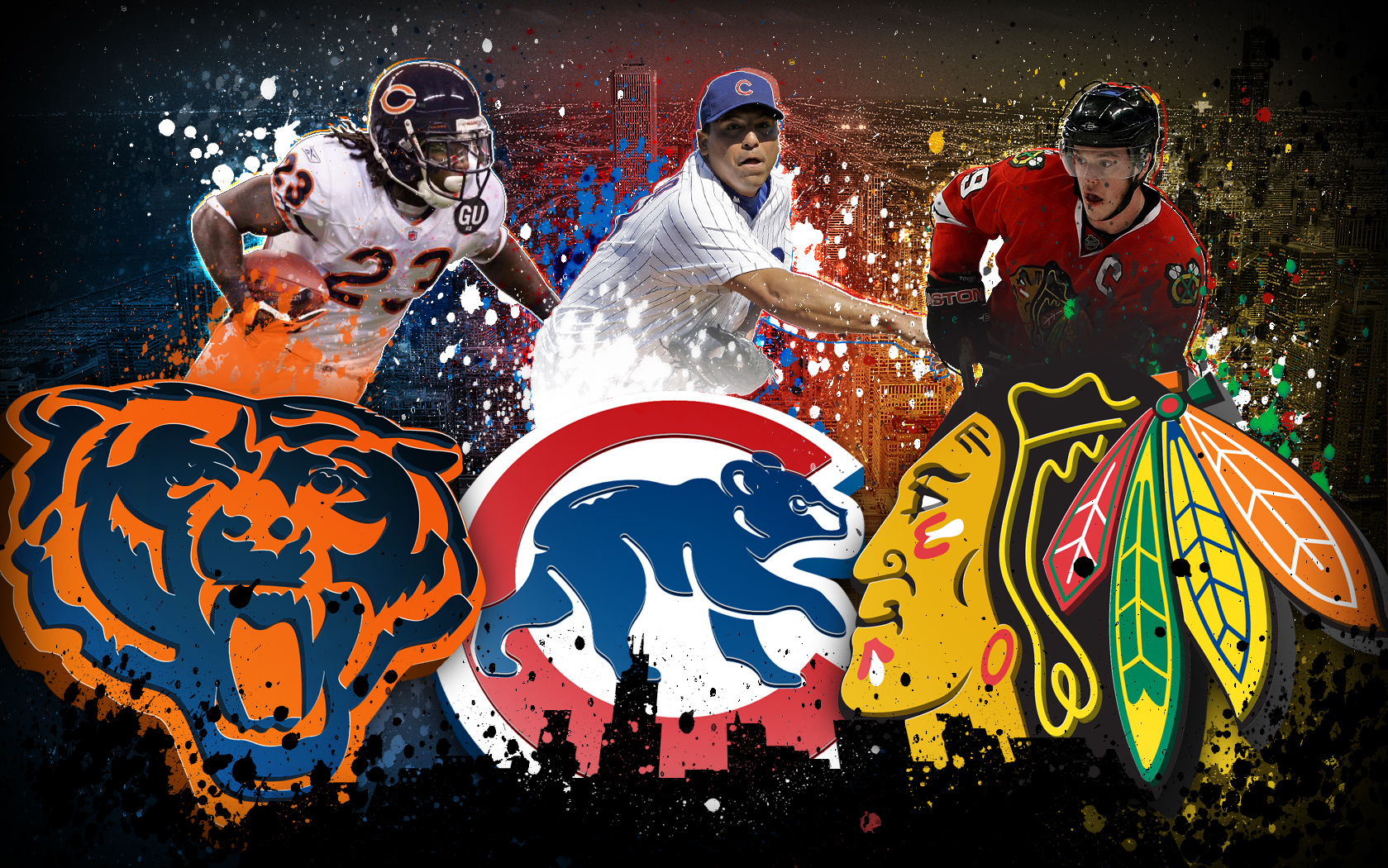 chicago bears - HD 1679×1050