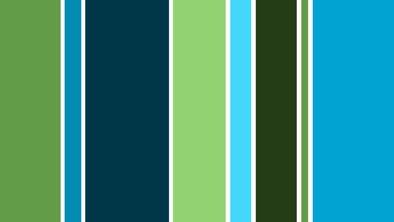 Stripe Blue Green And White: Green Striped Wallpaper
