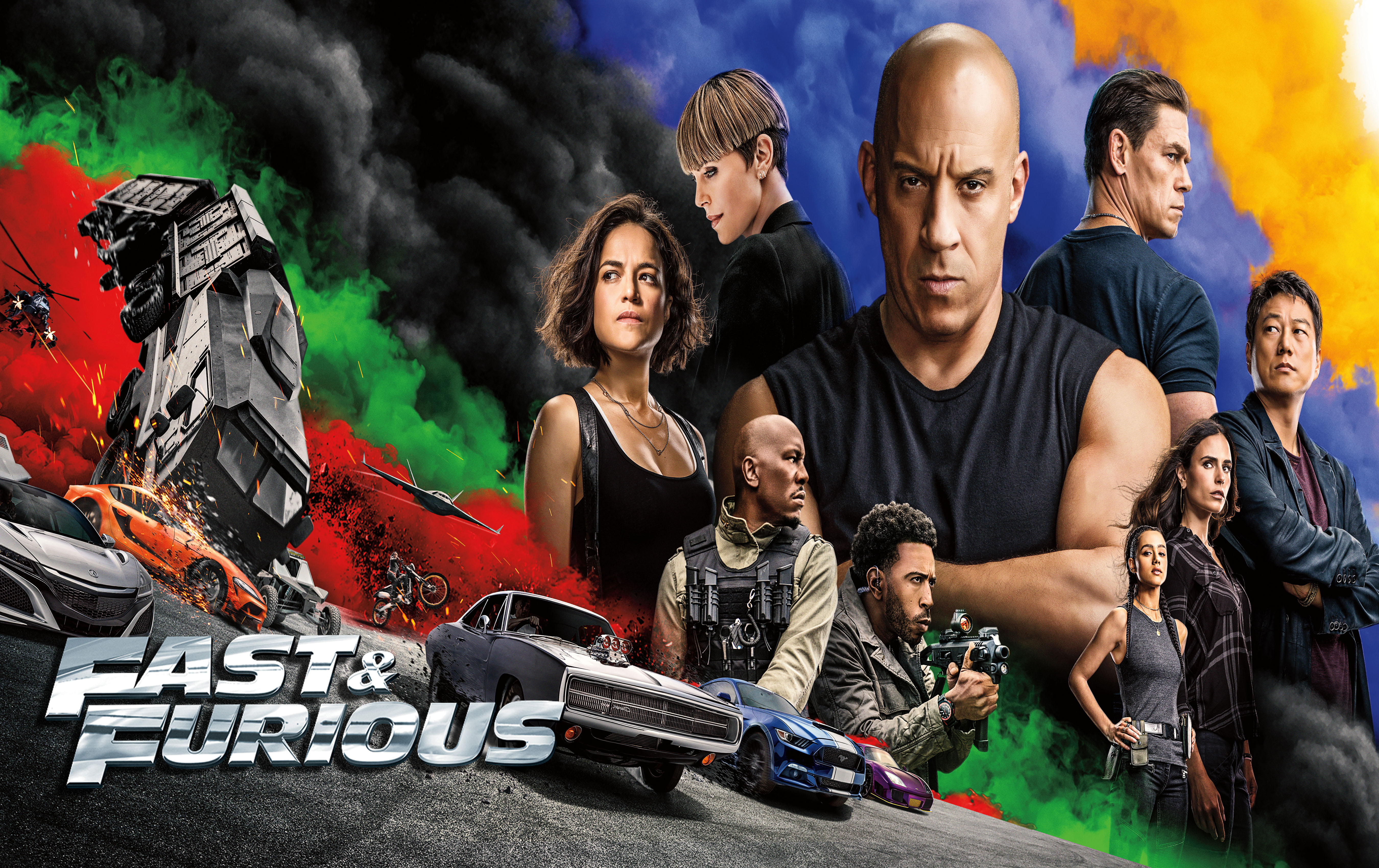 fast and furious 9 full hd wallpaper New Wallpapers 5400x3400
