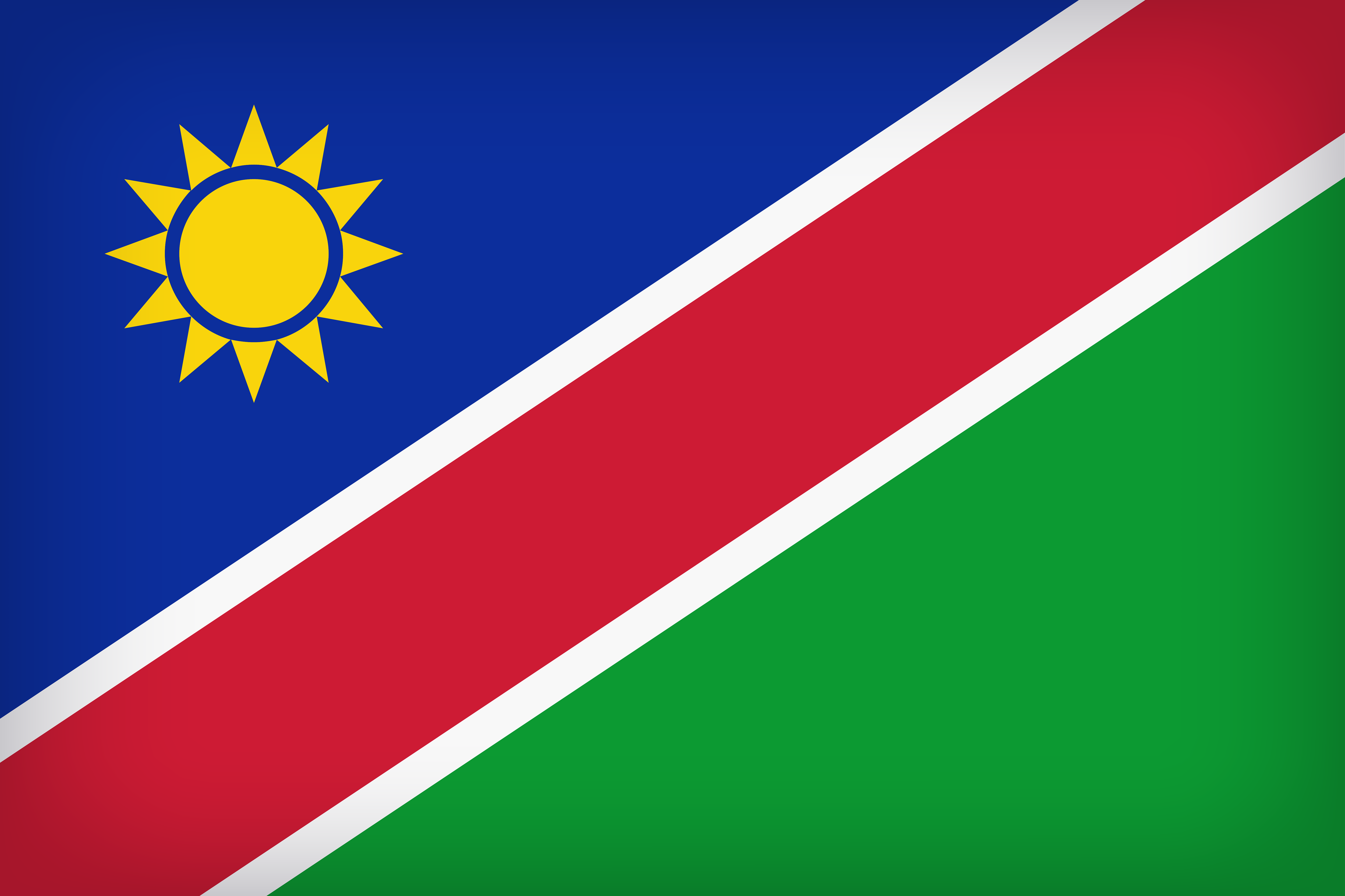 Namibia Large Flag Gallery Yopriceville   High Quality Images 5000x3333