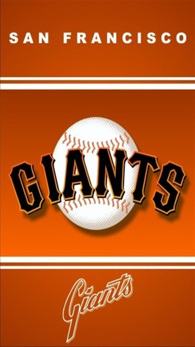 San Francisco Giants LOGO iPhone Wallpapers iPhone 5s4s3G 640x1136