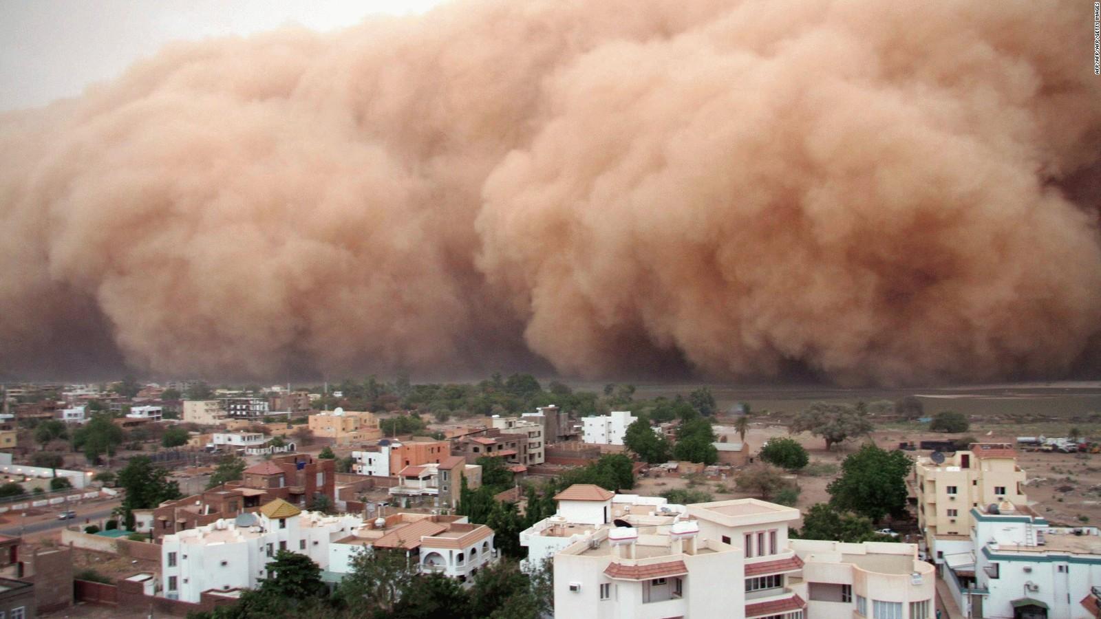 Massive sand storm hits Sudan   CNN Video 1600x900