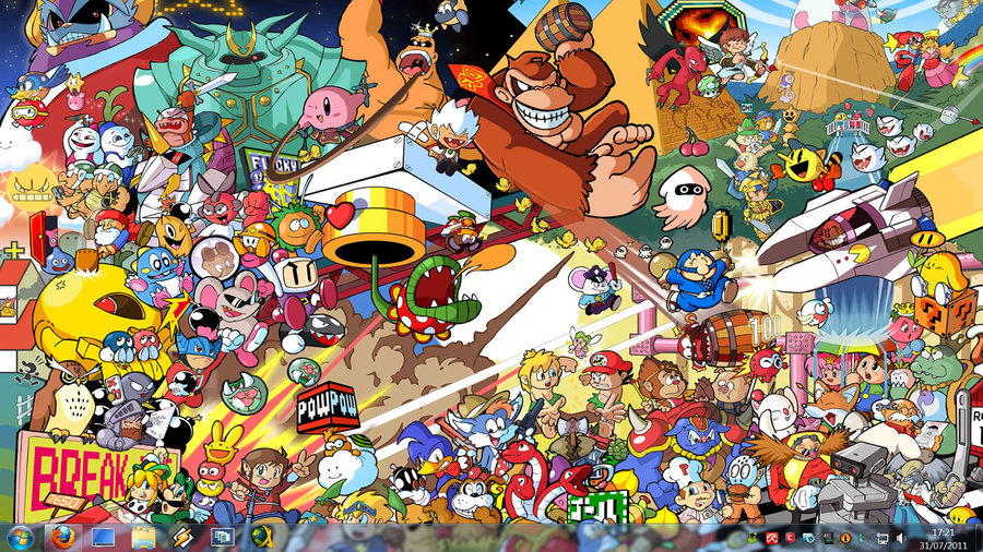 Retro Game Characters 900x506