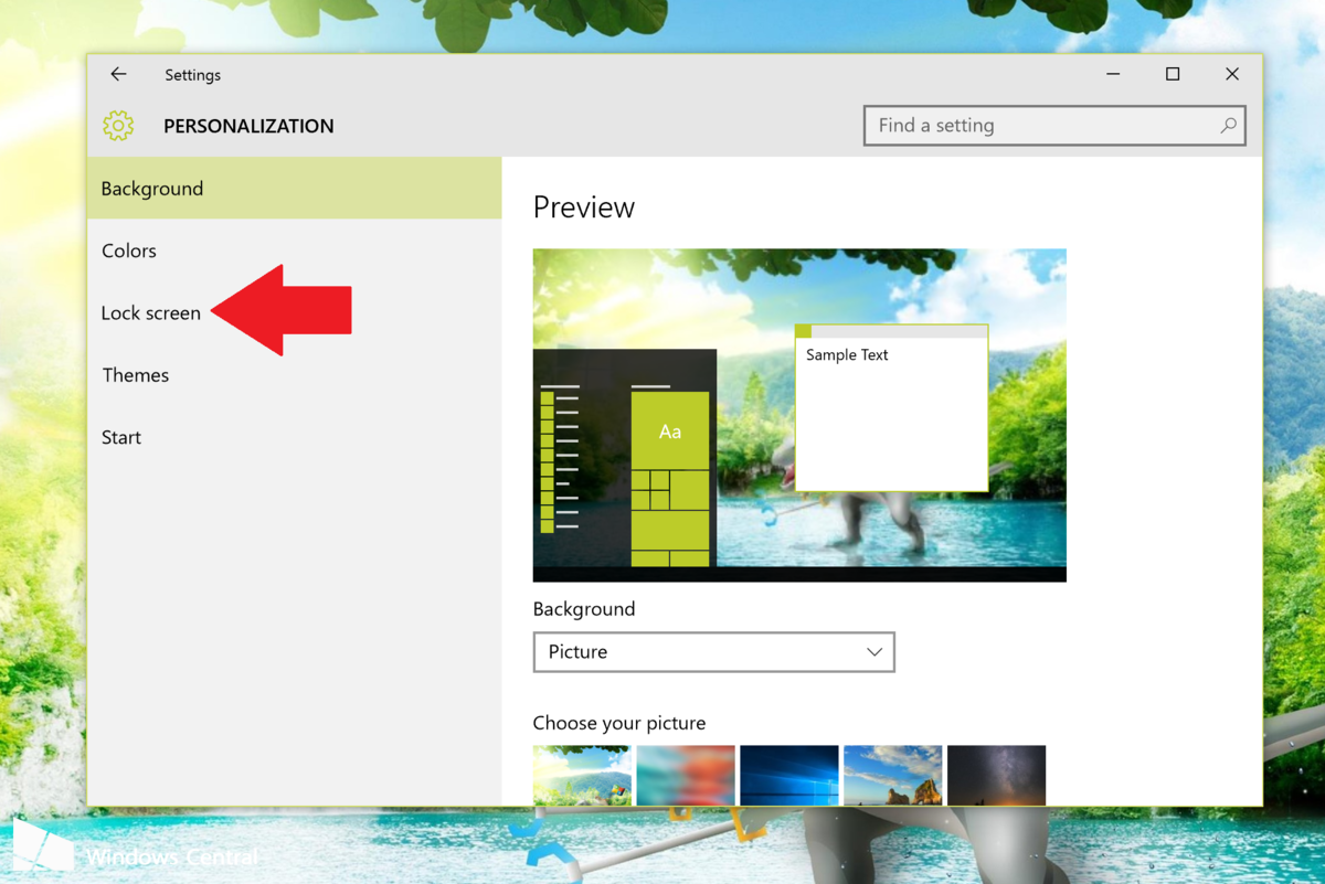 How to enable Windows spotlight in Windows 10 to keep your lock screen 1200x801