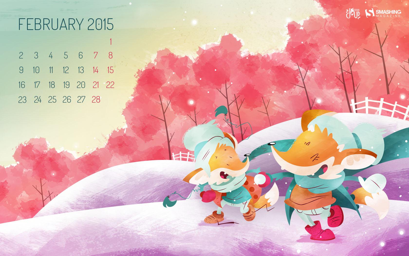 Desktop Wallpaper Calendars February 2015 Smashing Magazine 1680x1050