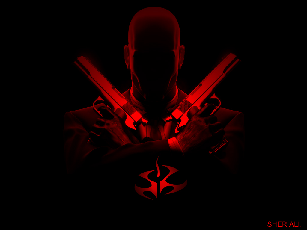hitman wallpaper 1024x768