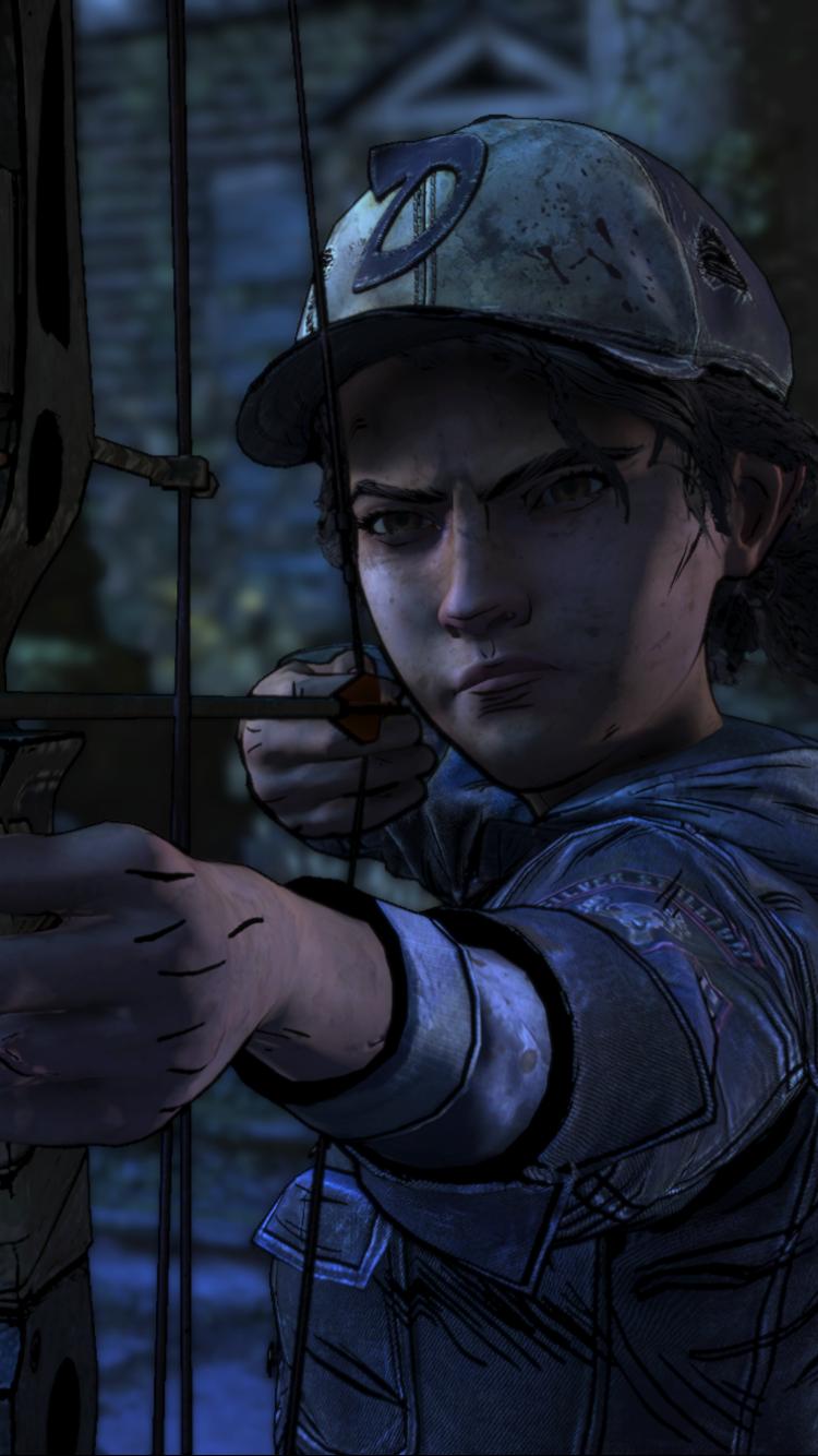 Video GameThe Walking Dead The Final Season 750x1334 Wallpaper 750x1334