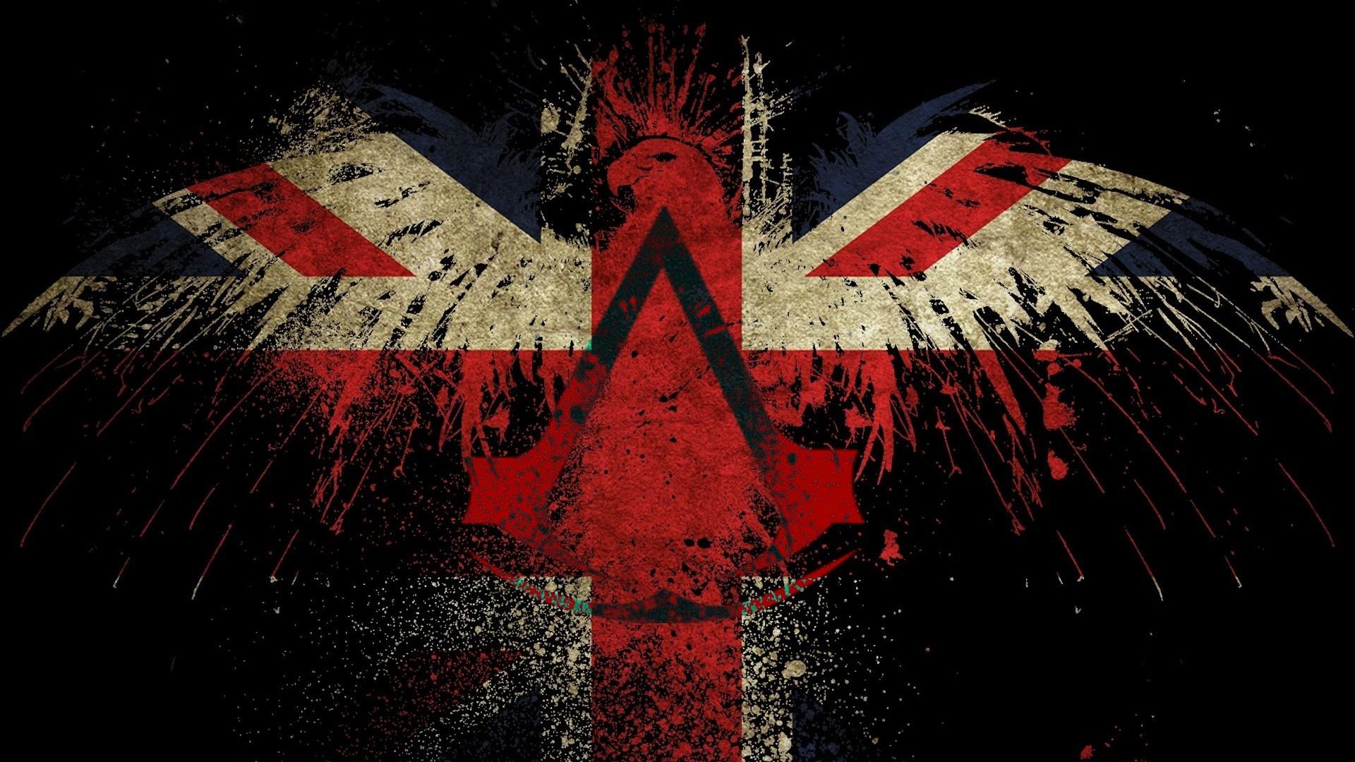 обои для рабочего стола флаг британии № 389754 без смс