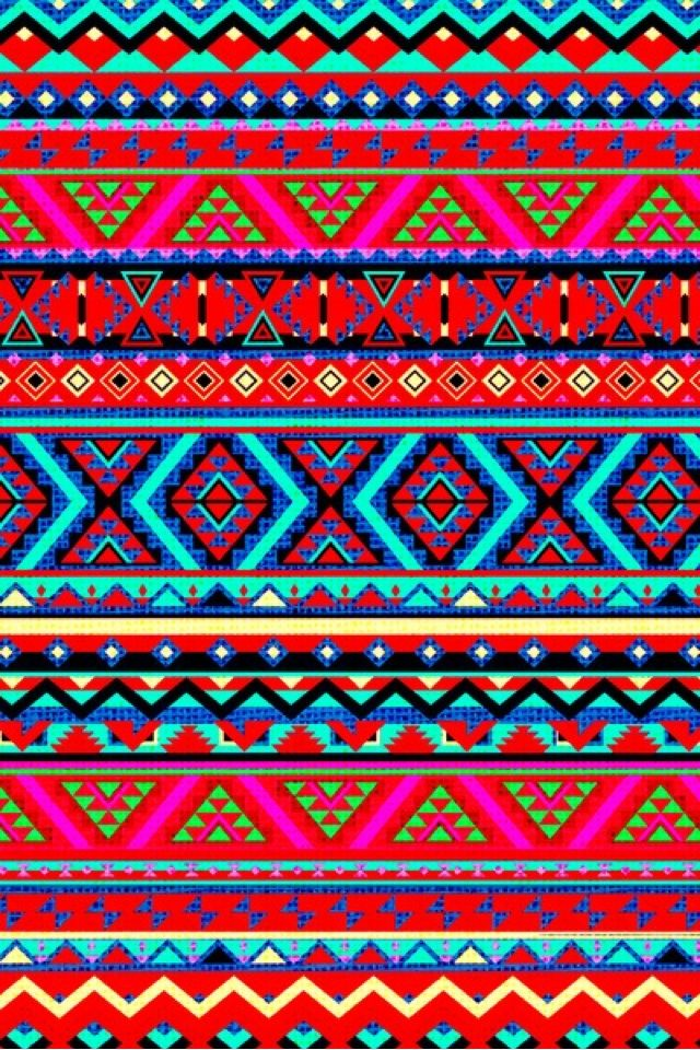 Aztec Wallpaper Wallpapers Pinterest Style 640x960