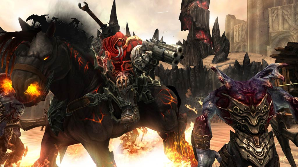 Four Horsemen Of The Apocalypse Wallpaper Darksiders Images Pictures 1024x574