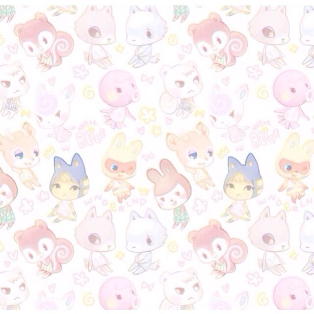 cute animal crossing wallpaper phone