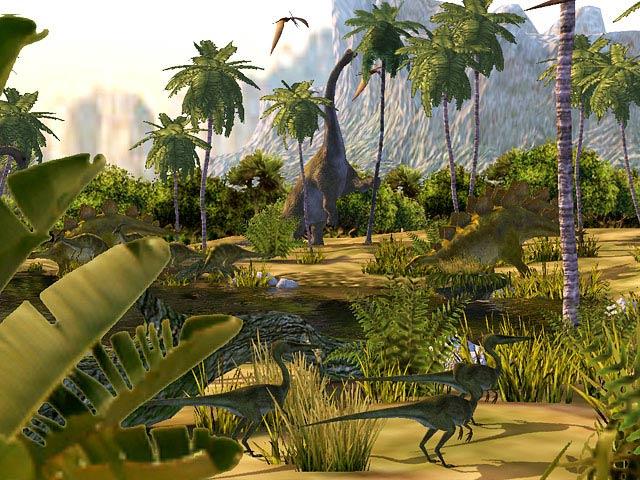 3D Dinosaur Screensaver Download   Dinosaurs 3D Screensaver 640x480