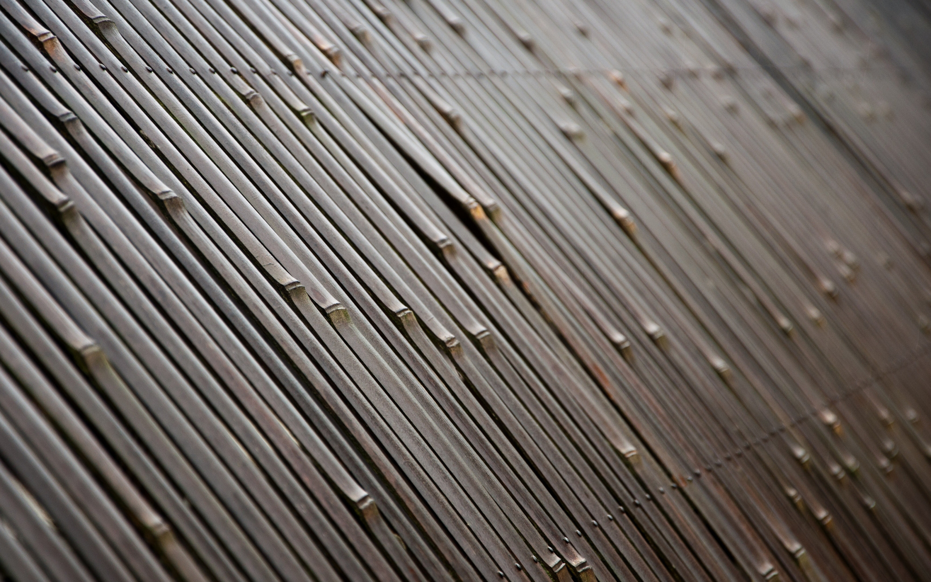 Wallpaper 3840x2400 texture bamboo fence Ultra HD 4K HD Background 3840x2400