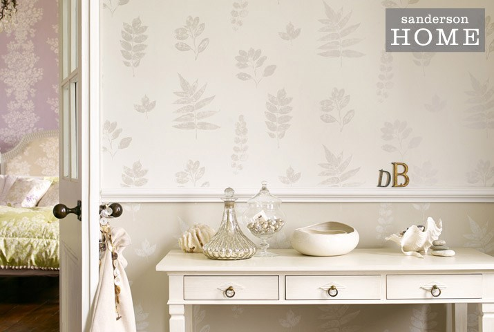 designer fabrics and wallpapers Sanderson HOME Madison Wallpapers 715x480