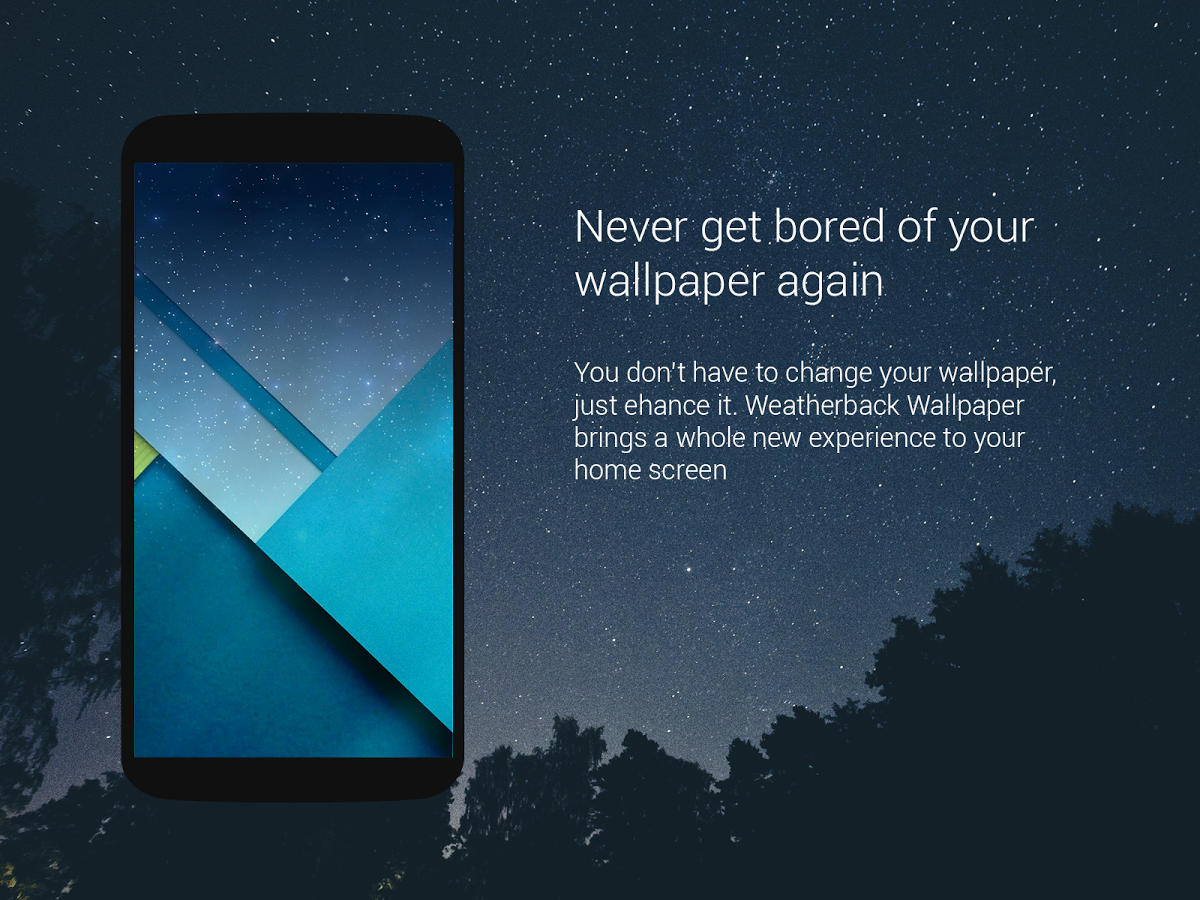Weather Wallpaper Android Apps