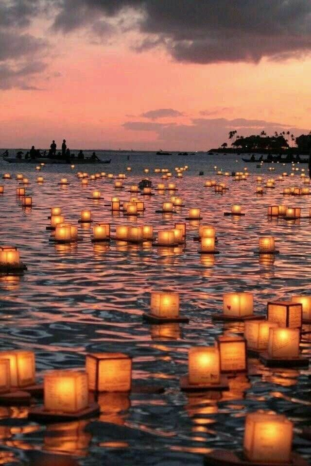 wanderlust Lanternas flutuantes Festival das lanternas 640x960