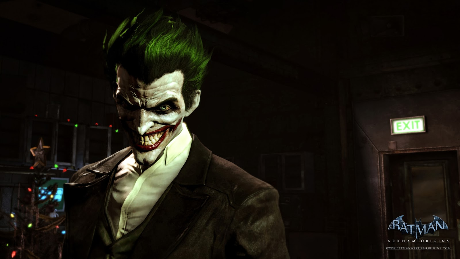Batman Arkham Origins The Joker Wallpaper HiresMOVIEWALLcom 1600x900