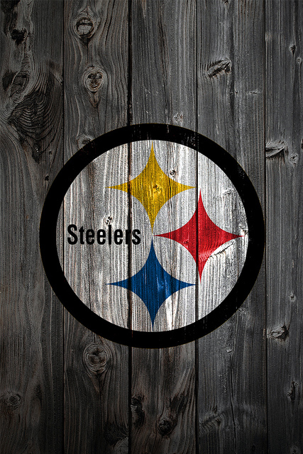 Pittsburgh Steelers Wood iPhone 4 Background Flickr   Photo Sharing 333x500