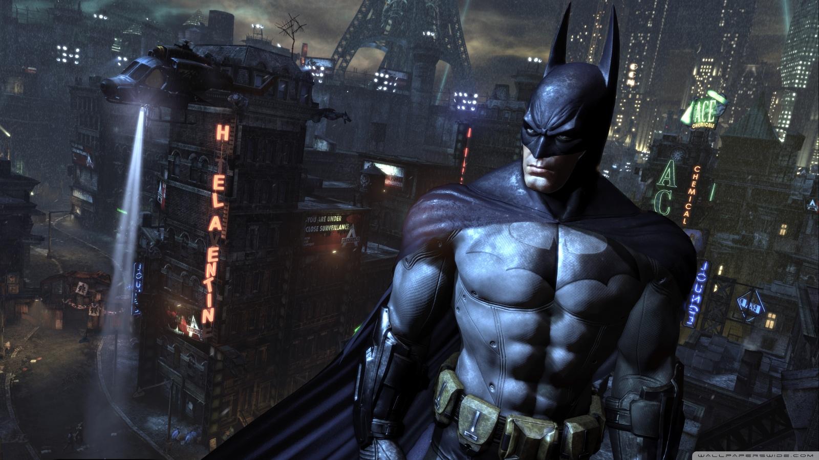 Freaking Spot Batman Arkham City Full HD 1080p Wallpapers 1600x900