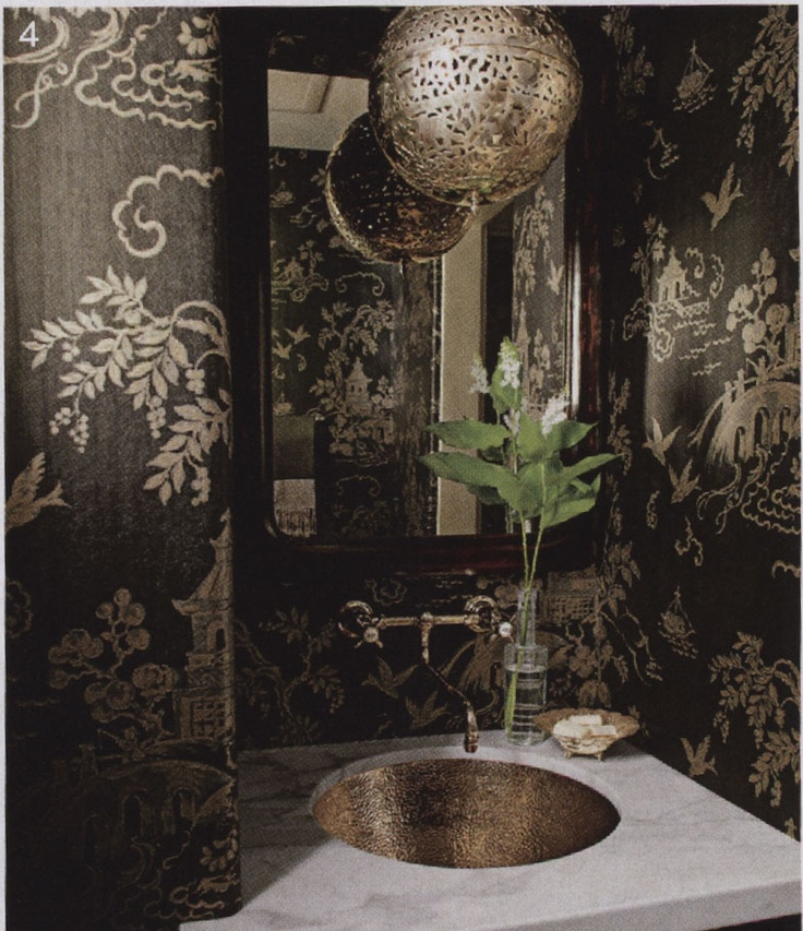 House Beautiful   June 2012 Lee Jofa Page 99 Wallpaper Chinese 736x853