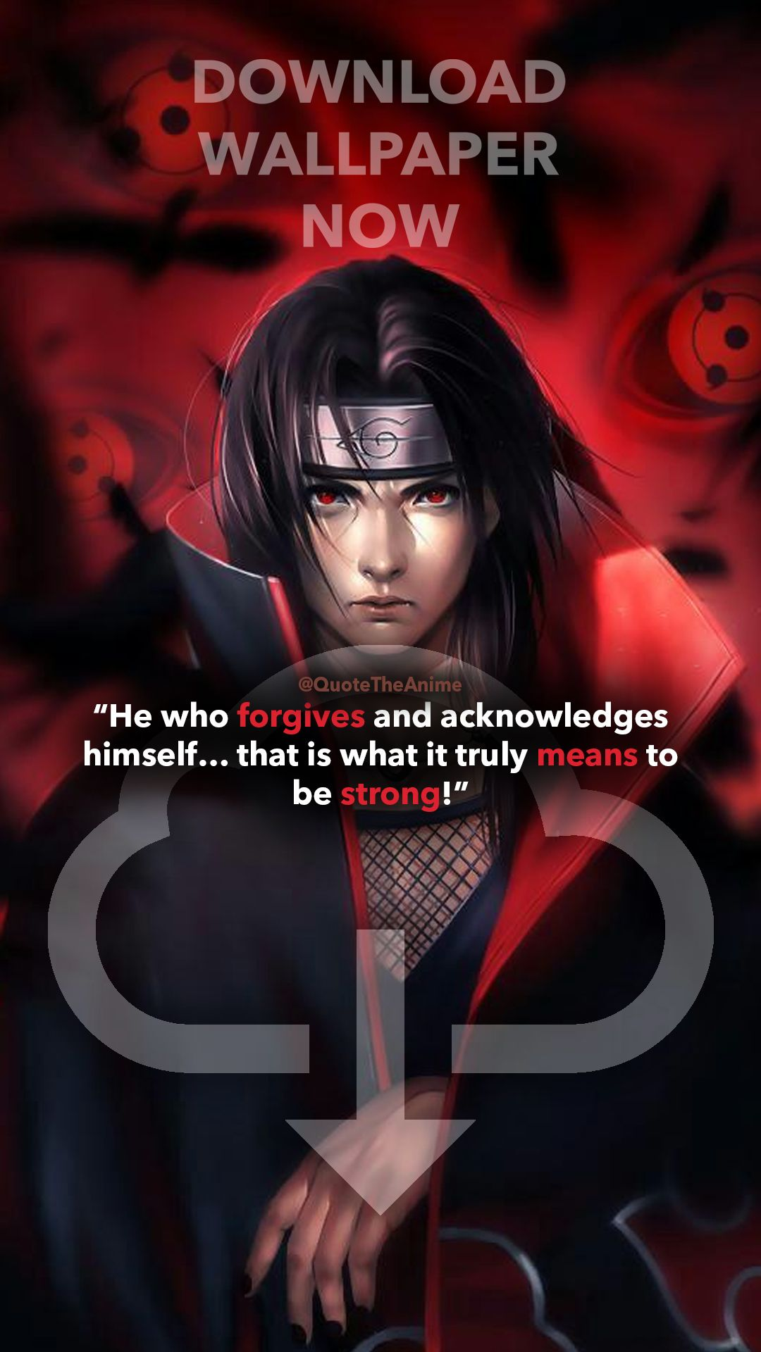 Powerful 11 Itachi Quotes   Naruto HQ Images Itachi quotes 1080x1920