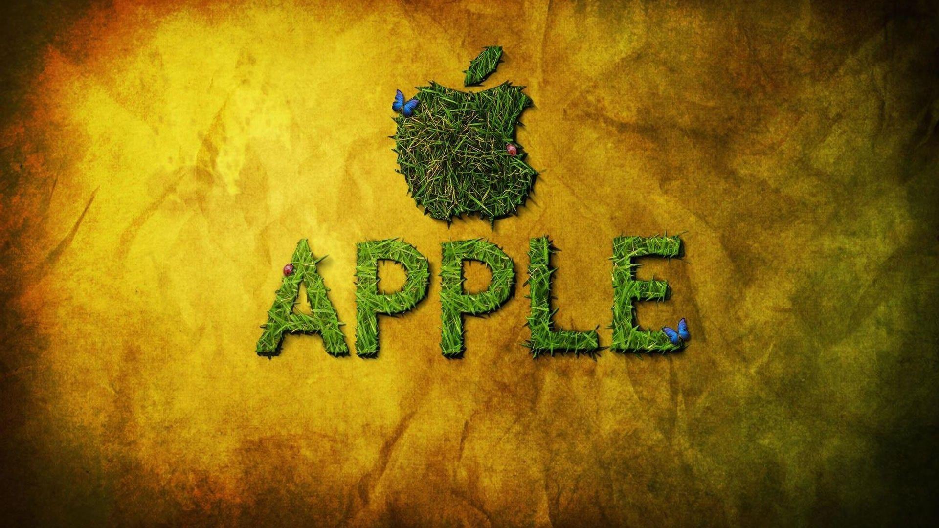 Apple Grass Wallpapers 1920x1080