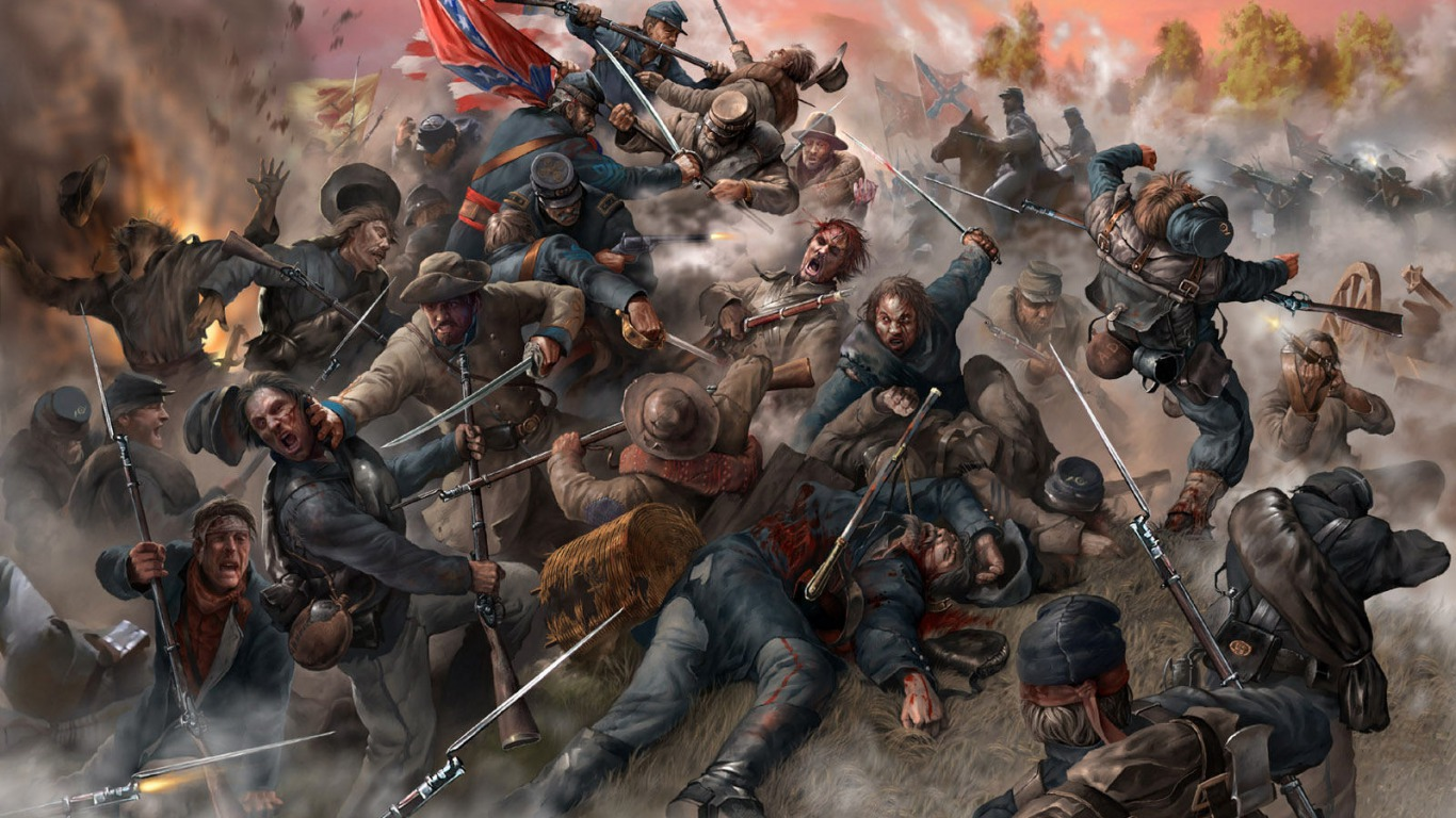 Which Civil War General Are You 1366x768
