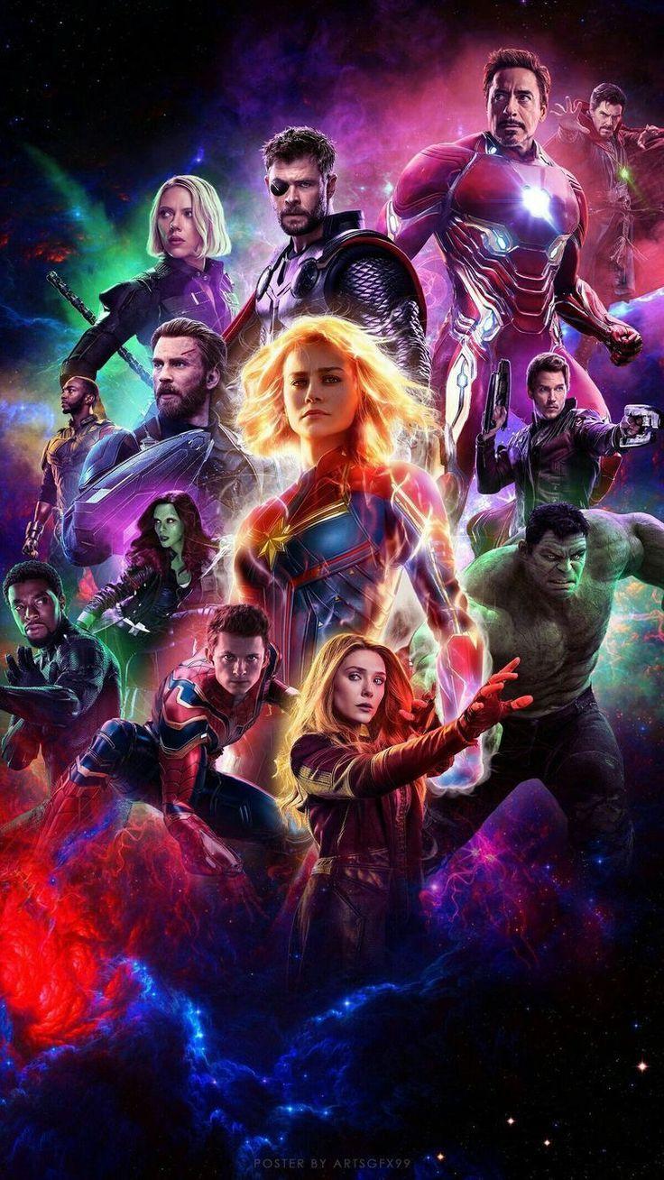 Wallpaper Capt Marvel   MarvelHeroesBehance 736x1308