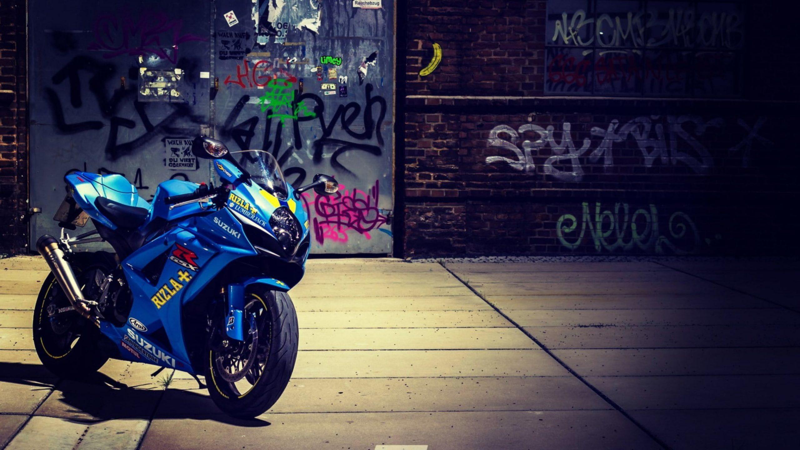 Suzuki Motorcycle [4K] Wallpapers BadAssHelmetStore 2560x1440