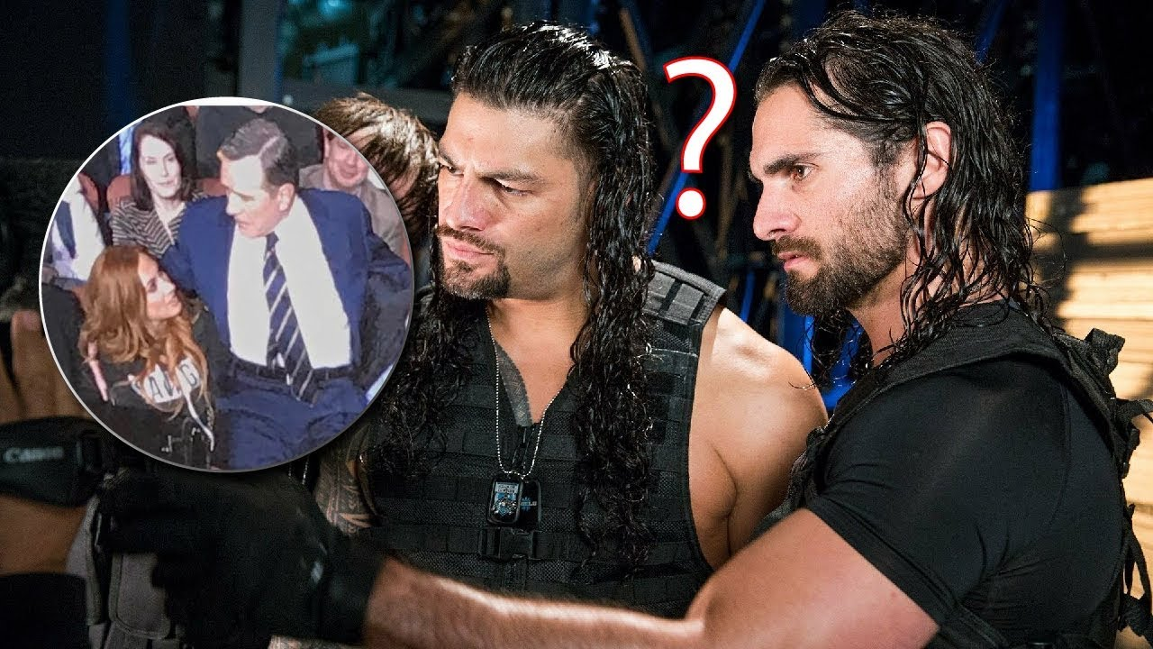 Seth Rollins reaction to the picture of Becky Lynch Walter 1280x720