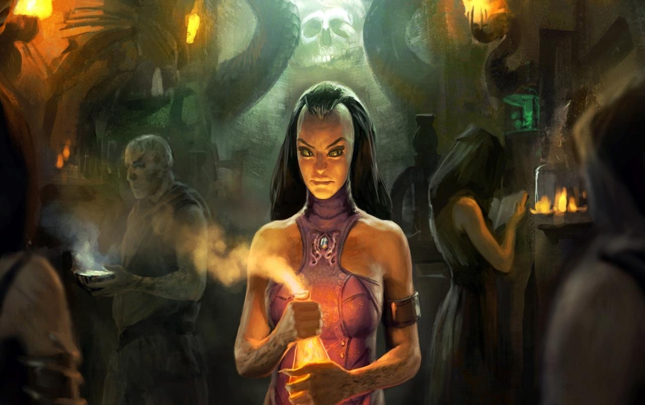 Fantasy girl   Ritual wallpapers Fantasy girl   Ritual stock photos 1280x804