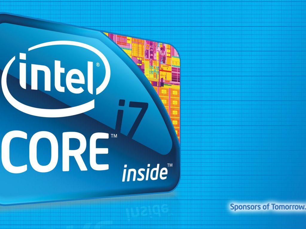 Core 2 Quad Core I7 Logo 1080p Wallpapers HD Walls Find Wallpapers 1024x768