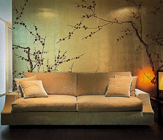 JapaneseKorean Style Hand Painted Wallpaper   Asian   other metro 640x548