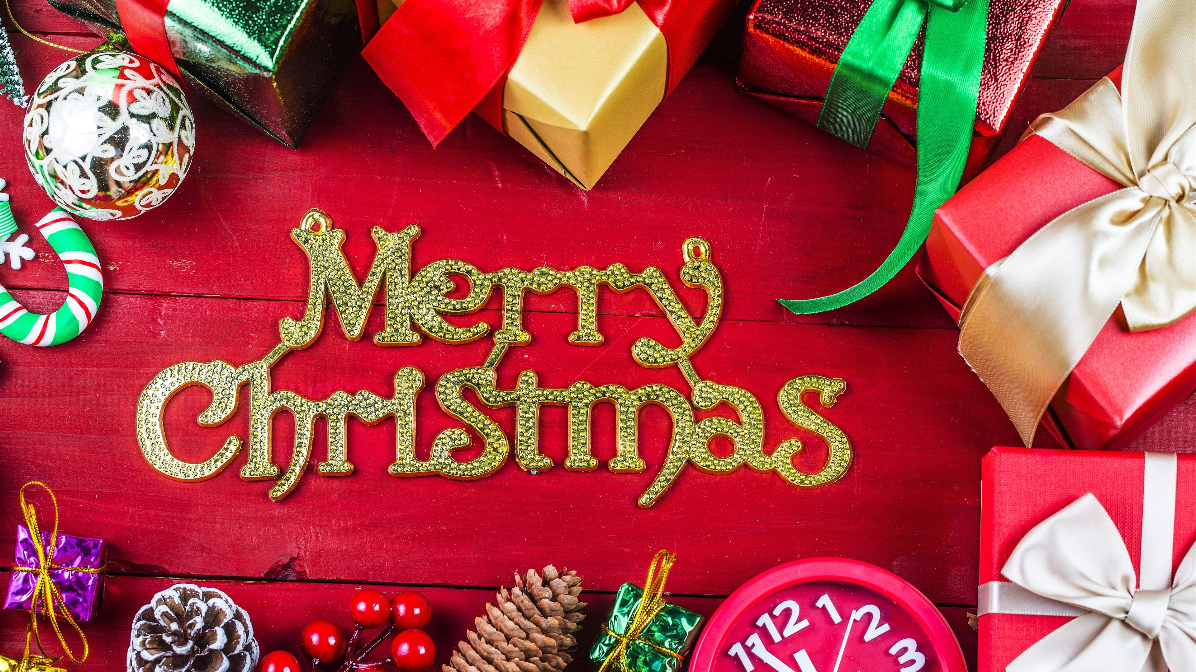 4k Merry Christmas Best Hd Wallpaper   3840x2160   Download HD 3840x2160