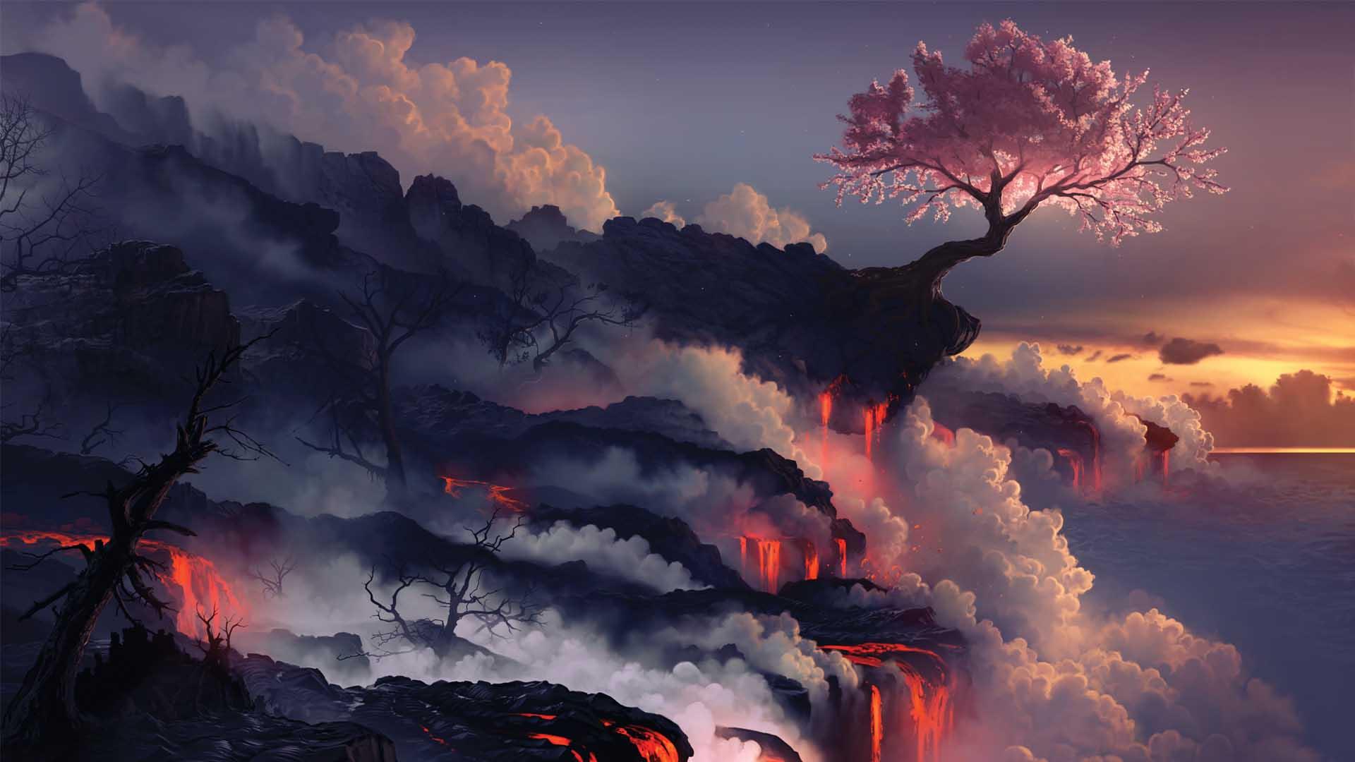 Vibrant Background Wallpaper 35764   Baltana 1920x1080