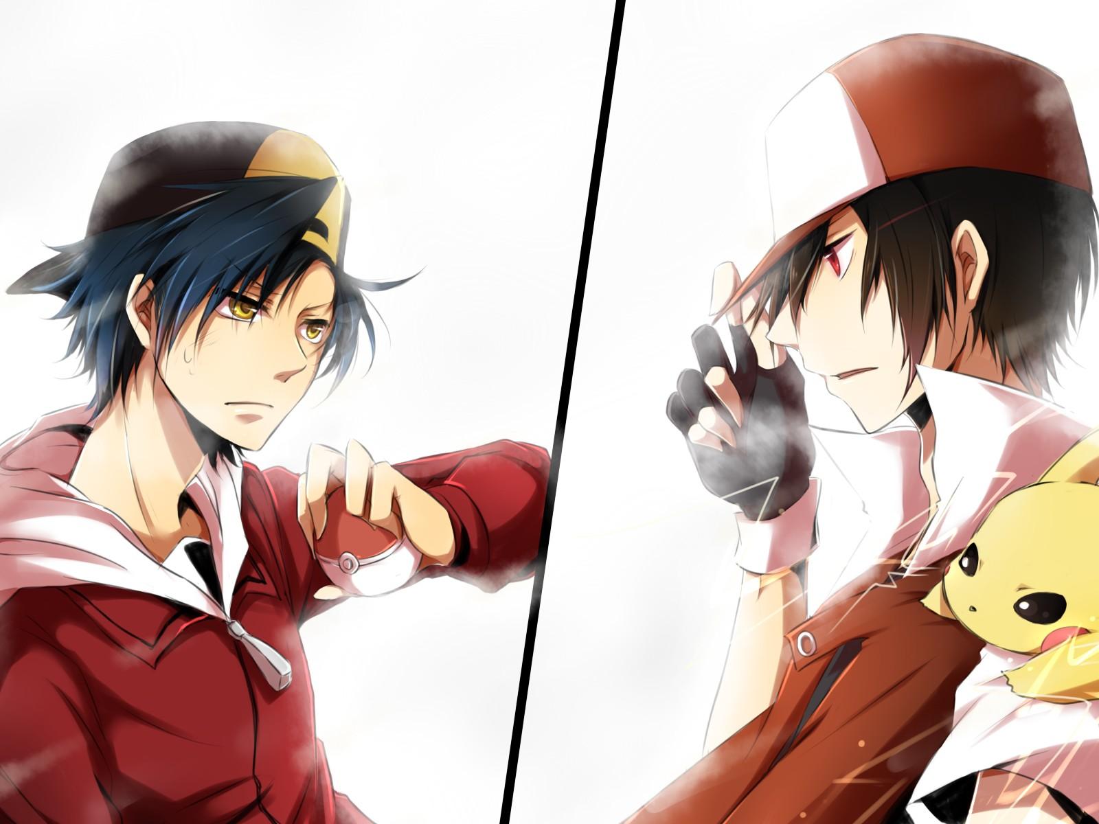 pokemon pokemon heartgold and soulsilver nintendo pikachu red pokemon 1600x1200