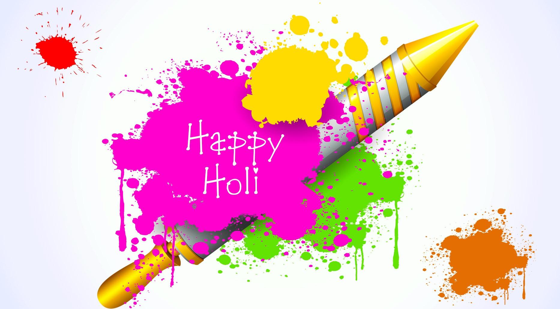 Best Happy Holi Wallpapers HD 2016 Desktop Holi Wallpapers 1866x1030