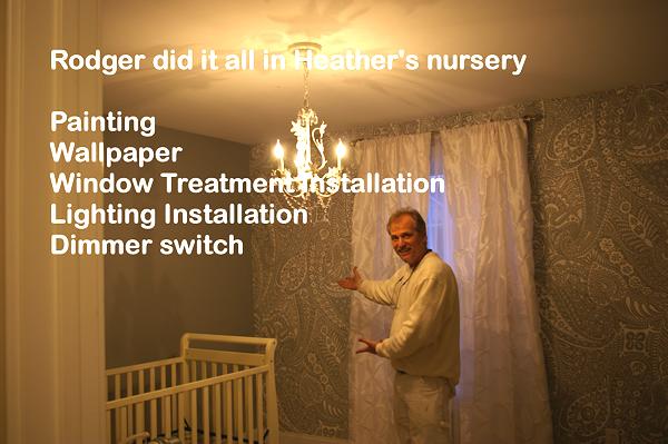 residential wallpaper installationjpg 600x399