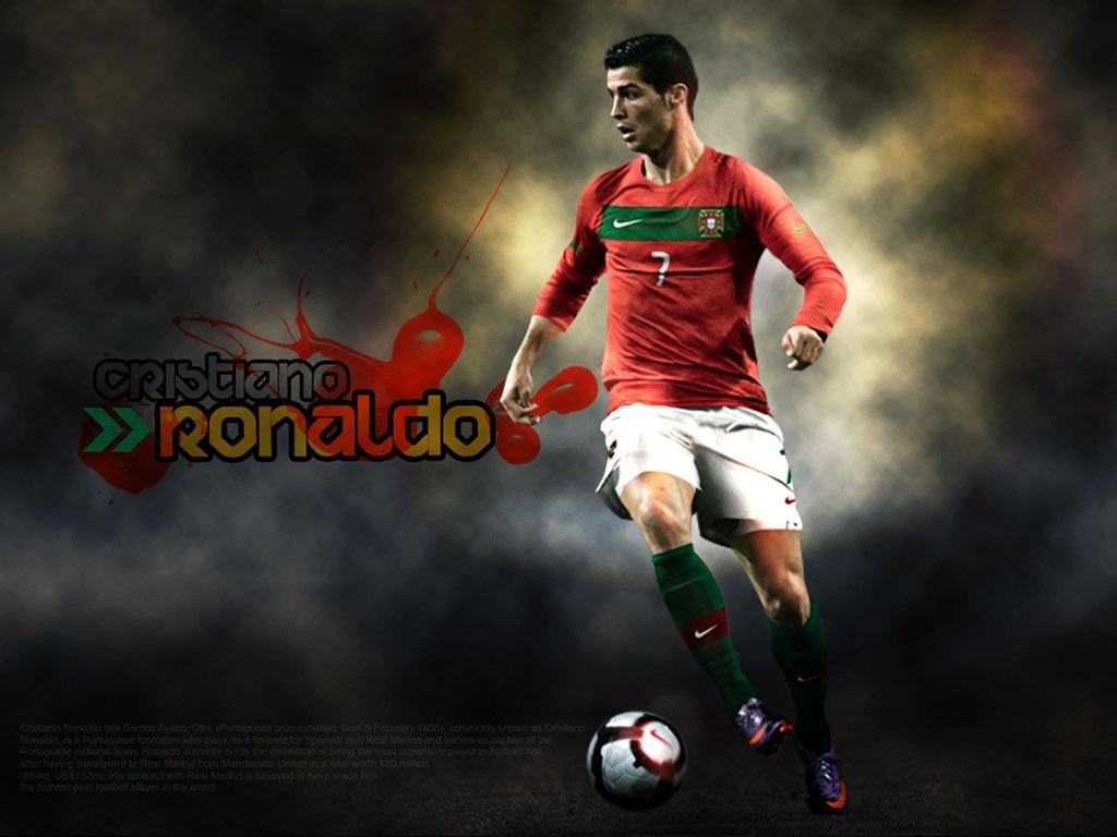 Download Cristiano Ronaldo Portugal HD Wallpaper 1785 Full Size 1024x768