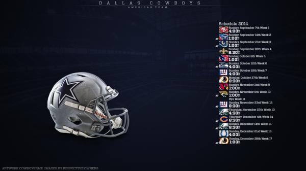 Dallas Cowboys Wallpaper 2014 Schedule 2014 schedule 471381289 600x337