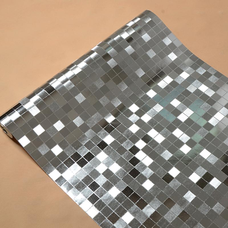 Mosaic wallpaper papel de parede wallpaper waterproof plaid bathroom 800x800