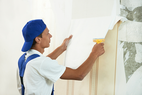 How To Remove Wallpaper Effectively 500x334