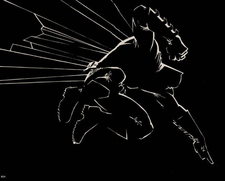 Frank Miller Batman Image   Frank Miller Batman Picture Graphic 744x600