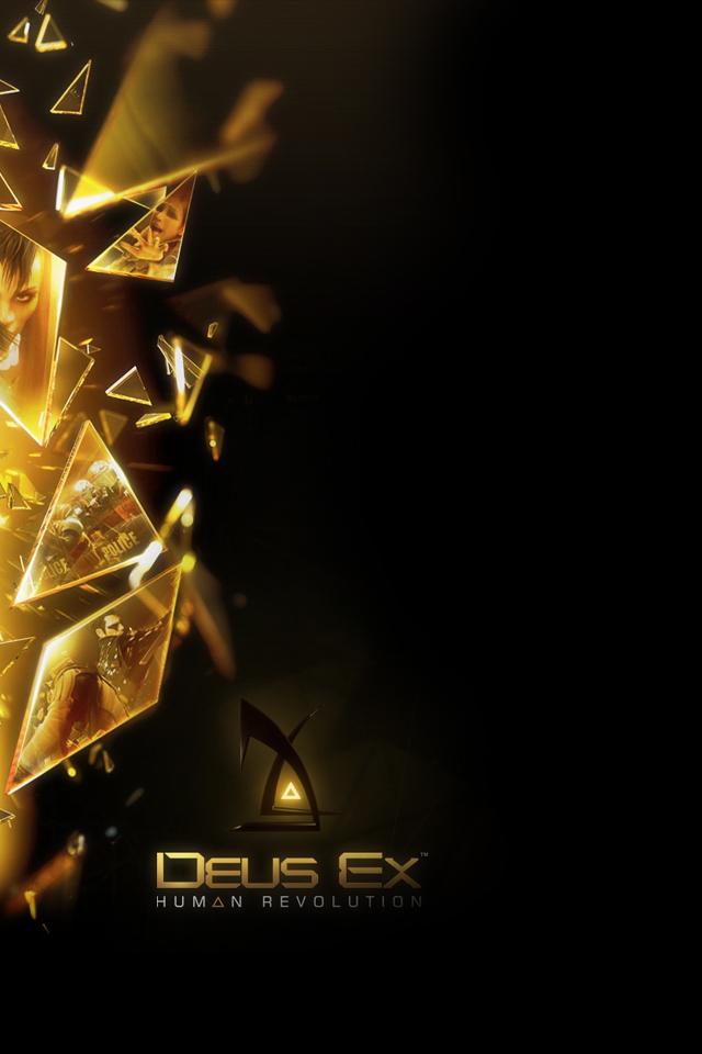 iPhone iBlog Deus Ex Human Revolution iPhone 4 Wallpapers 640x960