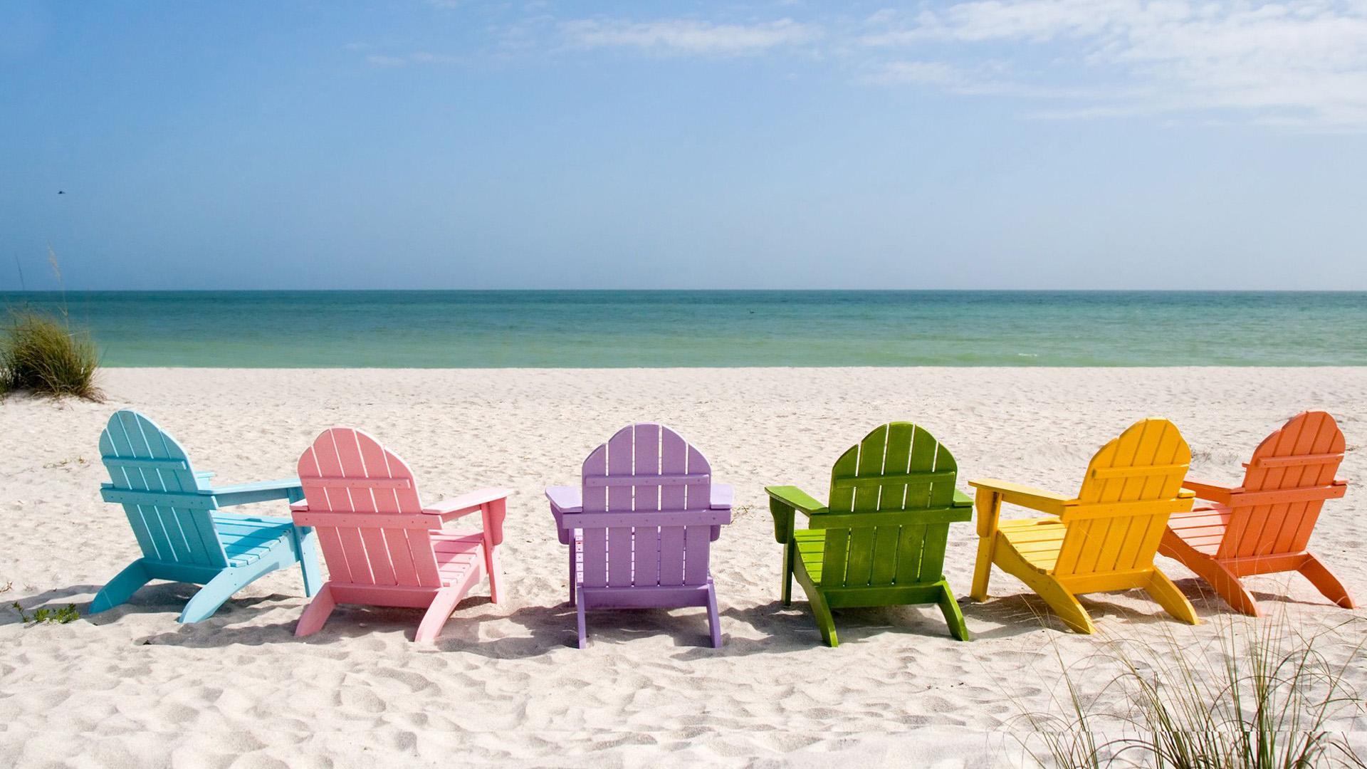 Adirondack Chairs On Beach Wallpapers Wallpapersafari