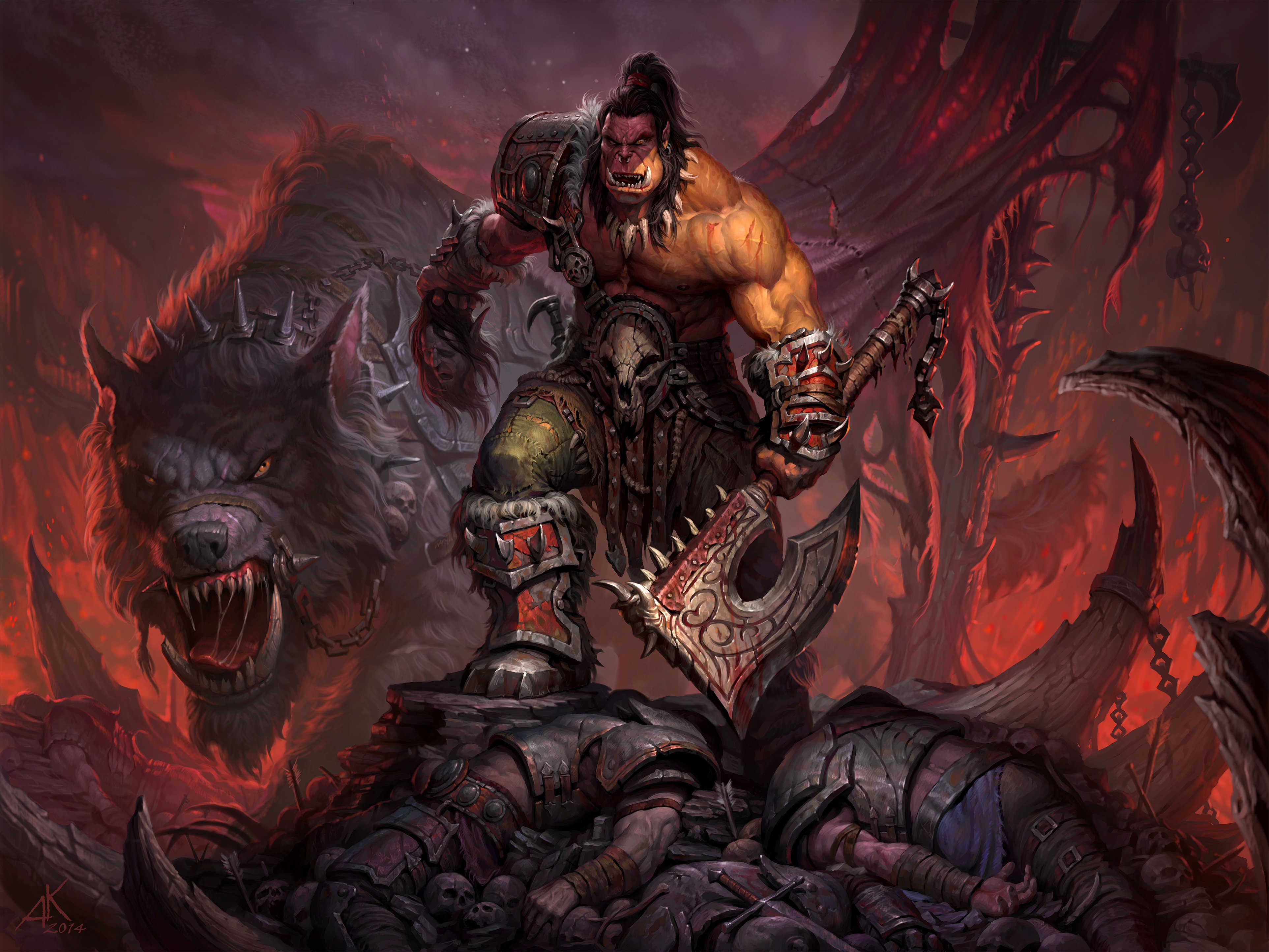 world of warcraft wallpapers 3850x2888