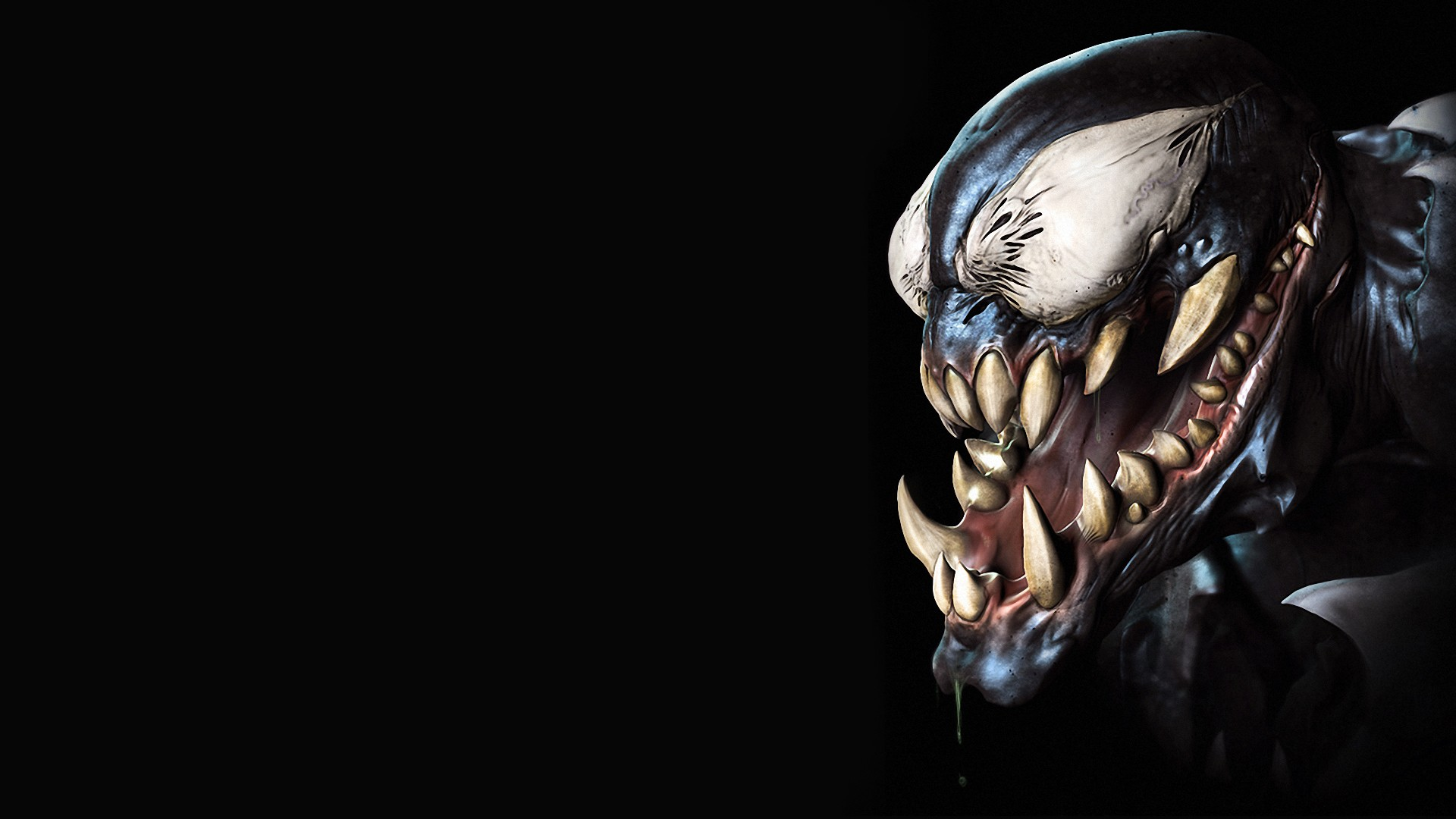 Download Venom Artwork Wallpaper 1920x1080 Wallpoper 422992 1920x1080