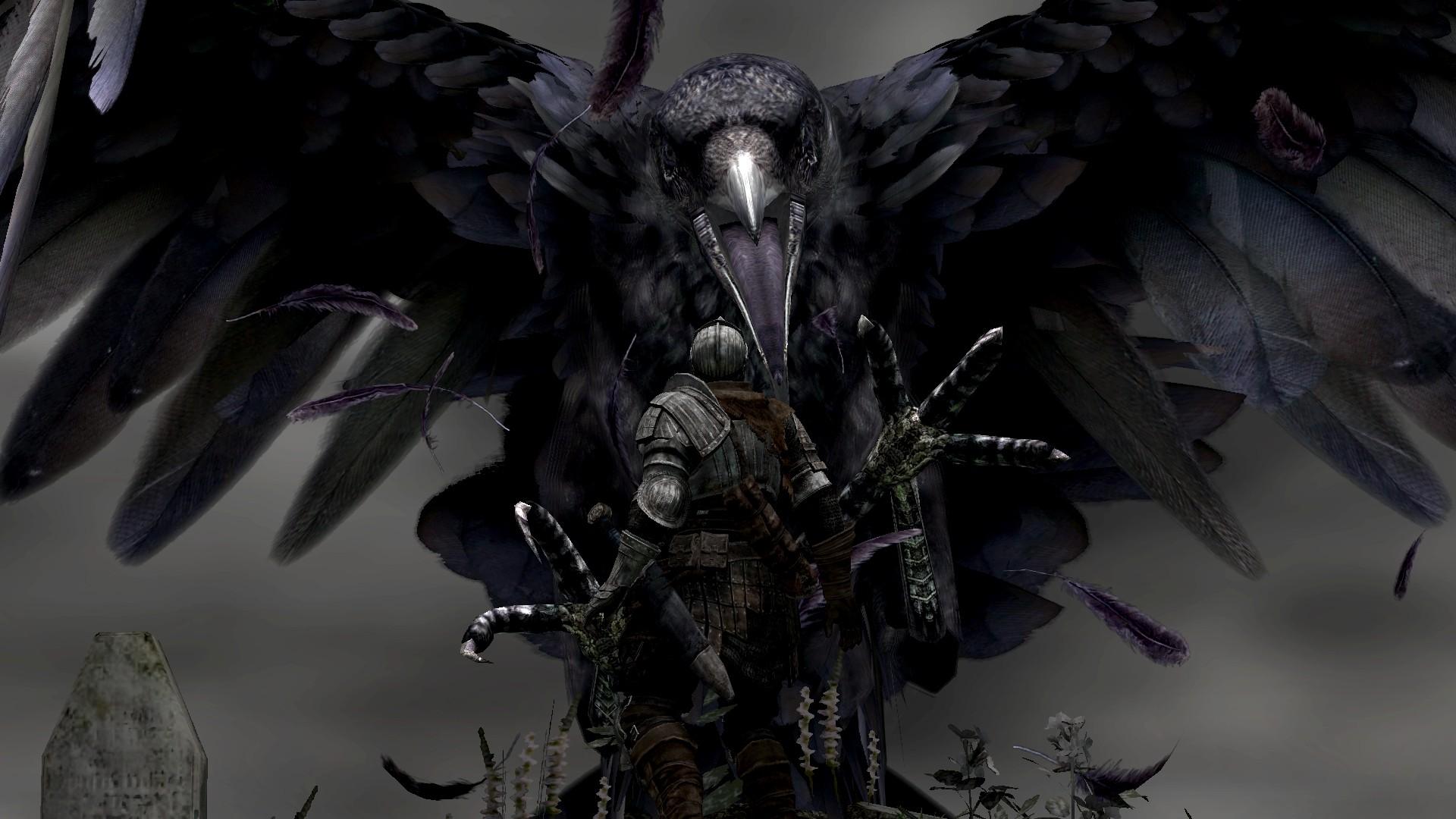 Wallpapers dark giant fantasy art grab digital art Dark Souls 1920x1080