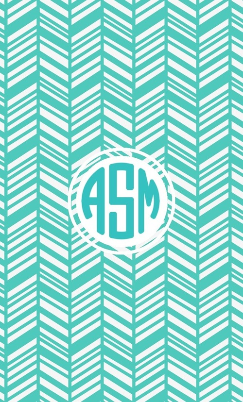 monogrammed wallpaper for iphone wallpapersafari