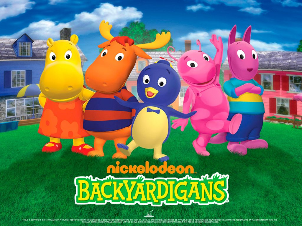 The Backyardigans is a childrens TV series of CanadianAmerican 1024x768